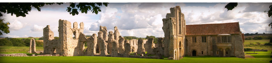 priory of castle acre norfolk england