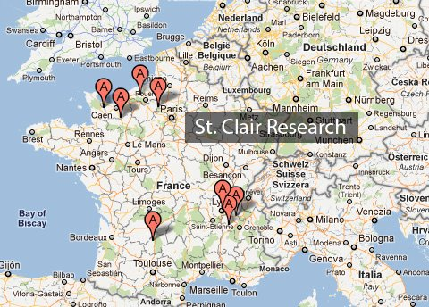 St Clair History France