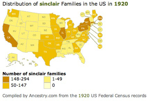 Sinclair spelling USA